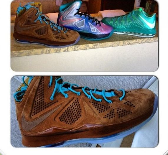 the latest 2df0c deabb nike-lebron-10-ext-brown-suede
