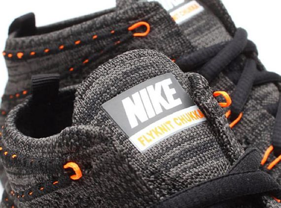 83eac10ac74e Nike Lunar Flyknit Chukka - Midnight Fog Total Orange