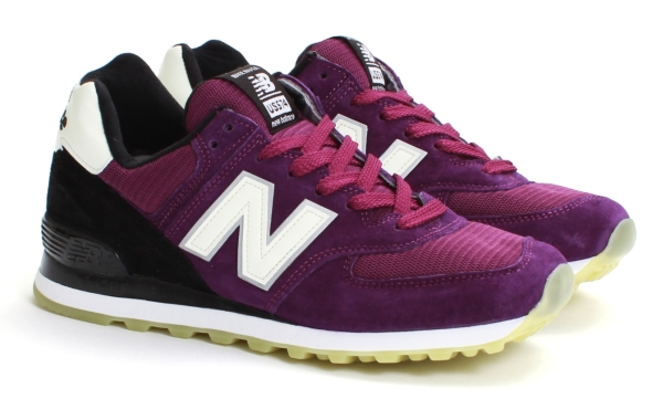 new balance dark purple