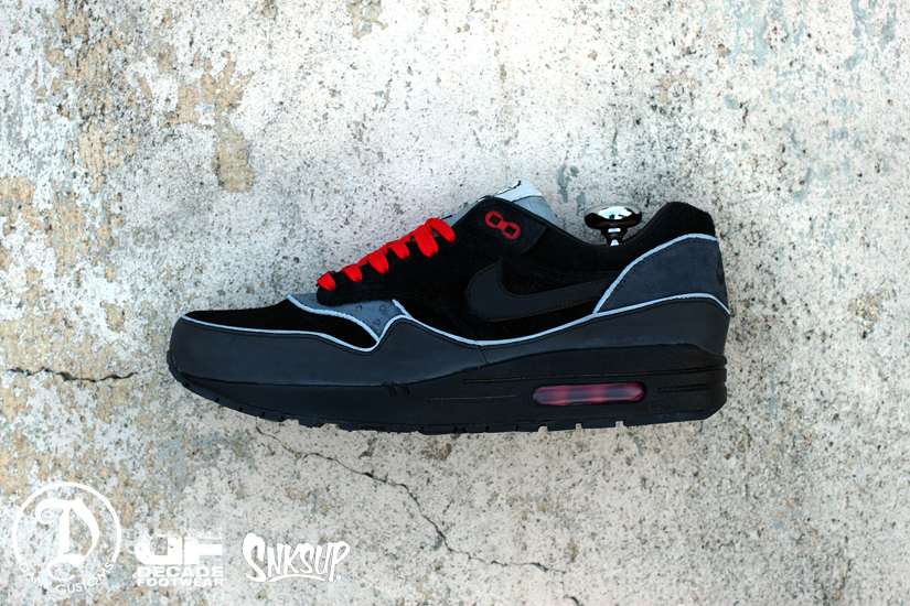 on sale 193a0 b6b04 Image Nike Air Max 1 Air Max 1. q2 q3 q4 q5 q9 q6 ... nike air max 1 dr. doom  custom .