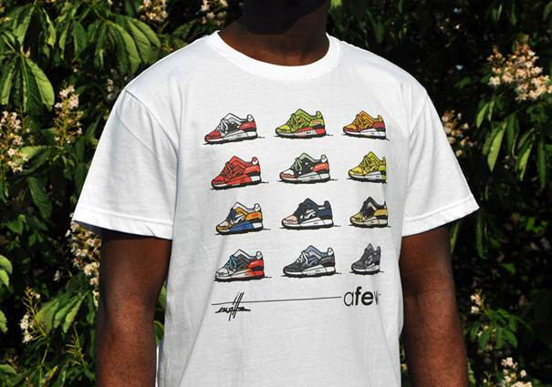 Afew x Kwills Best of Gel Lyte III Shirt_04