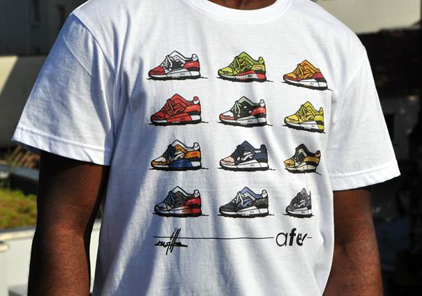 Afew x Kwills Best of Gel Lyte III Shirt_06