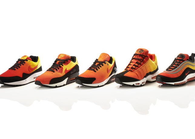 "Nike Air Max ""Sunset"" Pack – Official Photos"