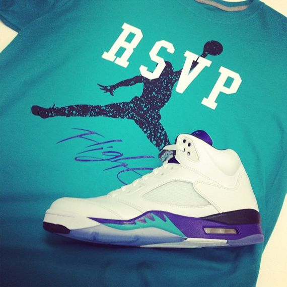 33bdf1cbc378 grape ape x wheaties x air jordan v retro grapes raglan baseball t ...