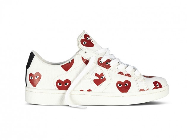0465dfd0251a1e COMME des GARCONS PLAY for Converse - Pro Leather Collection