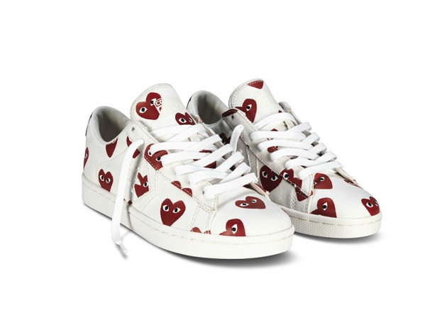 3818f981b0acfd COMME des GARCONS PLAY for Converse - Pro Leather Collection