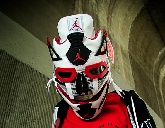 fire red mask
