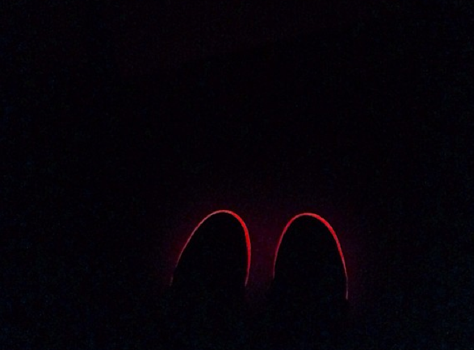 red-nike-air-yeezy-2-sole
