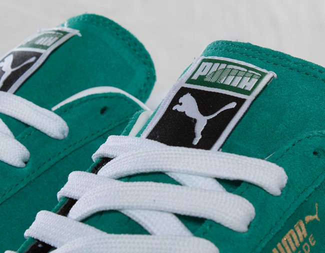 "This year s installment to the ECO line from Puma sees the classic Suede in  a ""Green Lake"" colorway 74b1ab424"