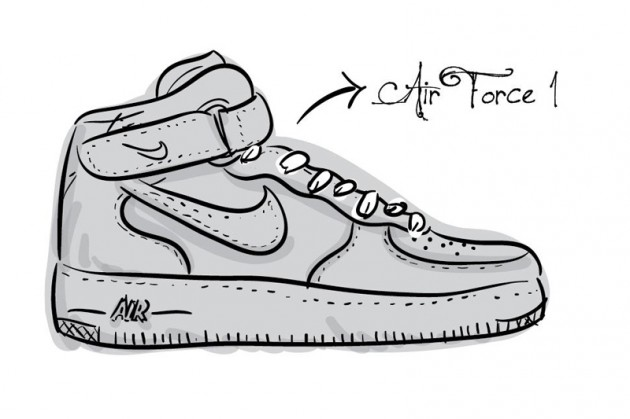 Illustrated Alphabet of Footwear
