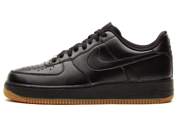 black-gum-air force 1- nike