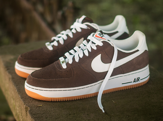 brown gum-air force 1 low-nike