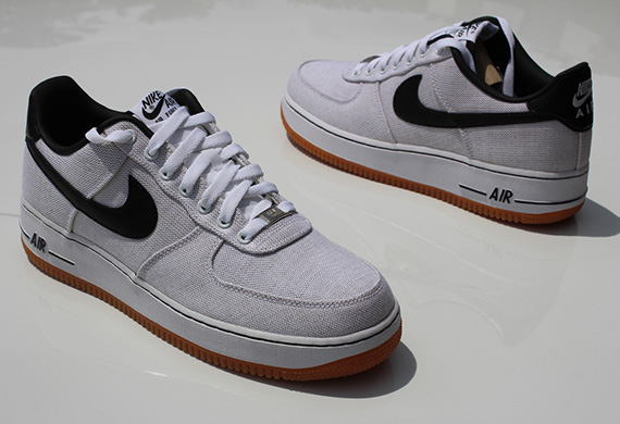 canvas-gum-air force 1 low-nike