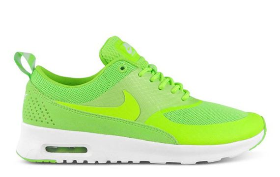 flash lime-air max thea- nike wmns