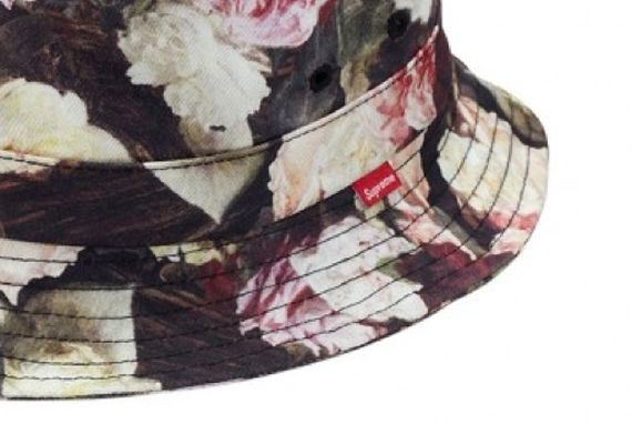 floral-bucket hat-supreme