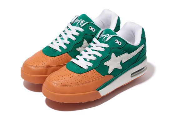 leather x nubuck-road sta-a bathing ape