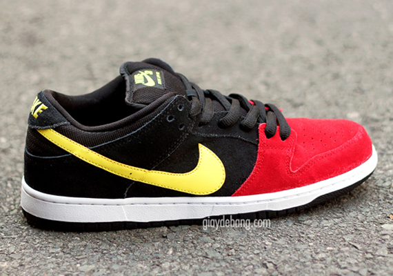 red-black-yellow-dunk low-nike sb