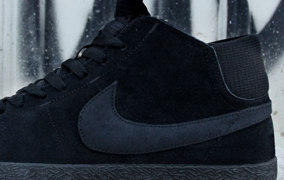 black-dark grey-blazer mid-nike sb