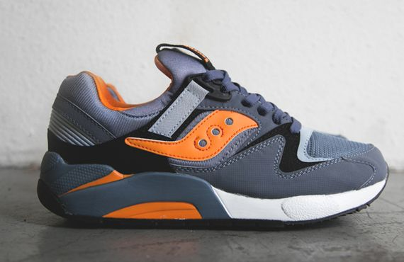 slate blue-orange- grid 9000-saucony