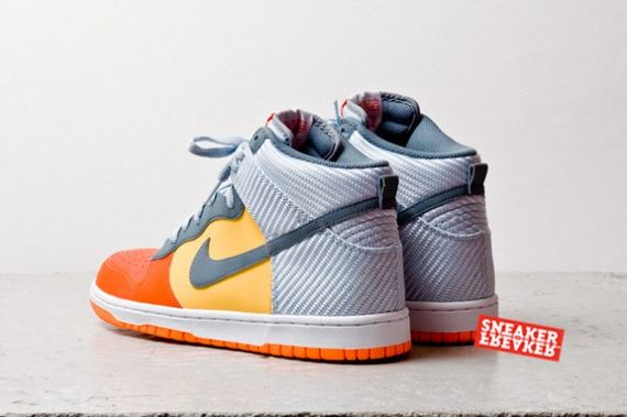 team orange-total orange-dunk hi-nike