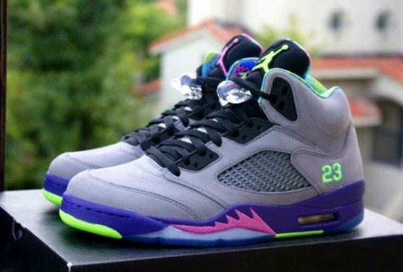 "9e1ac54eac32f3 2013 Air Jordan Retro 5 V ""Bel Air"" -Detailed Images"
