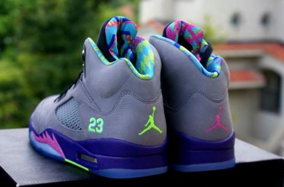 "afb532f6c03c74 2013 Air Jordan Retro 5 V ""Bel Air"" -Detailed Images « The Closet ..."