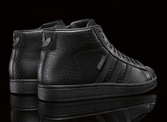 big sean-adidas originals-pro model II- black