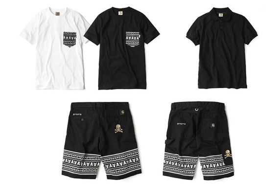 carhartt WIP-mastermind JAPAN-fall 2013 capsule collection