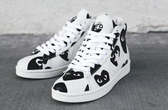 comme des garcons PLAY-converse-pro leather high_02