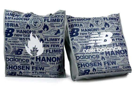 hanon-new balance-canvas tote bag