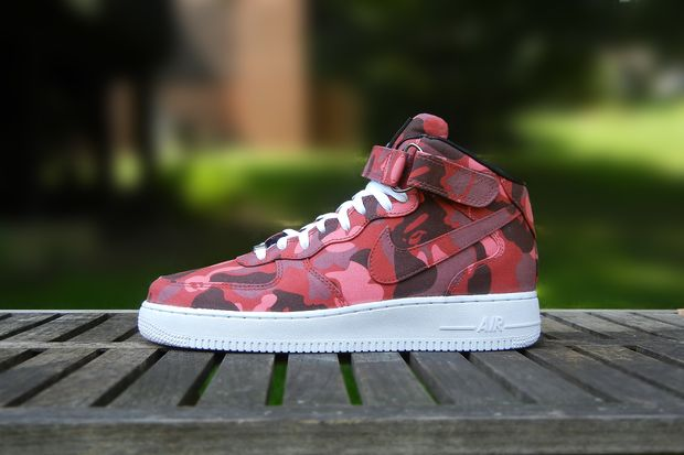 jbf customs bape af1 mid 2
