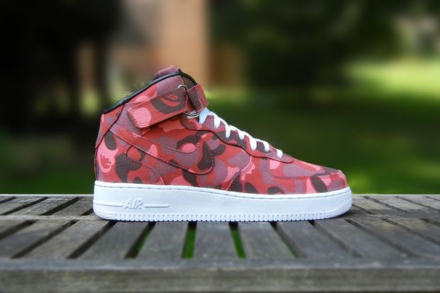 jbf customs bape af1 mid