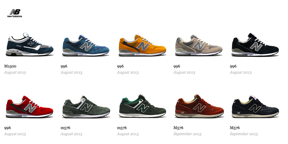 20 New Balance Sneakers Releasing this Fall