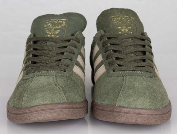 adidas Originals-tobacco-earth green