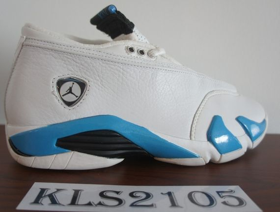 "air jordan 14 ""carolina"" 99' sample_04"