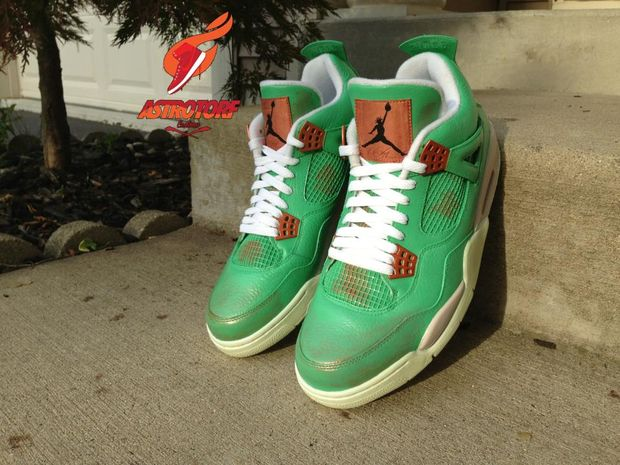 "air jordan 4 ""statue of liberty"" by astrotorf"