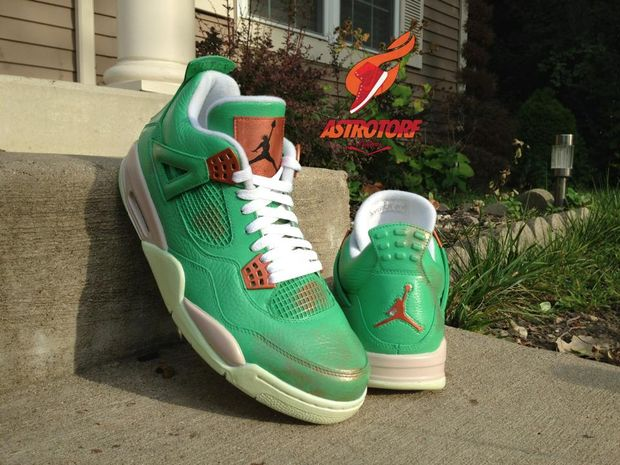 "air jordan 4 ""statue of liberty"" by astrotorf_02"