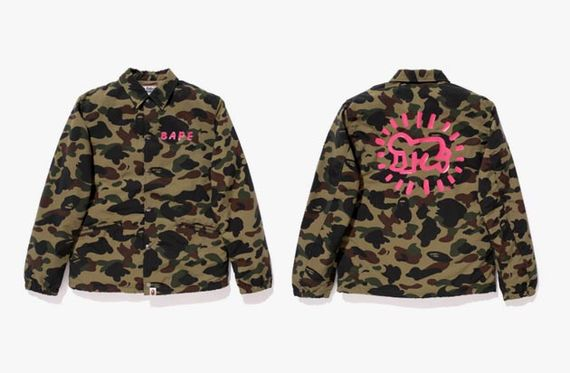 bape-keith haring-capsule collection