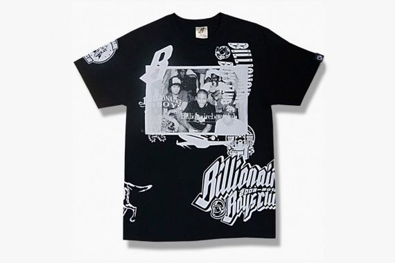 billionaire boys club-10th anniversary college t