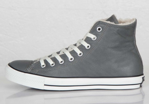 converse-chuck taylor all star hi-charcoal grey-shearling