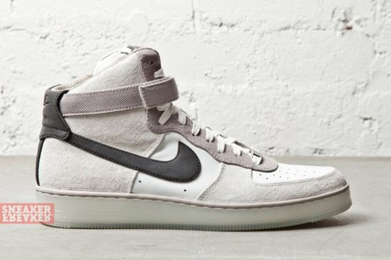 nike-air force 1 downtown high-grey leather