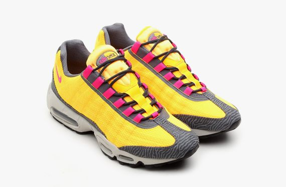 nike-air max 95 prm tape-laser orange-pink flash