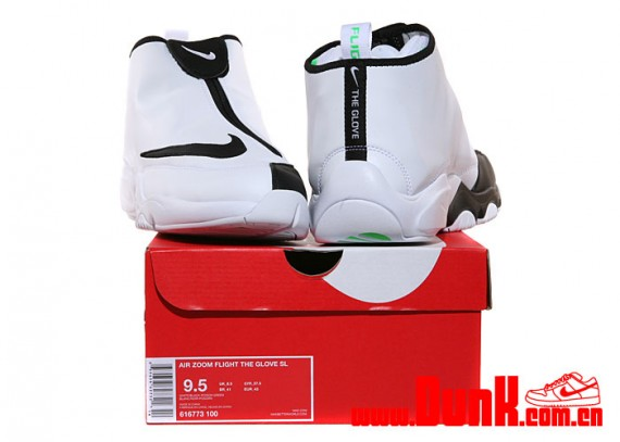 5de09adcc3348 Nike Air Zoom Flight The Glove SL – White – Black – Poison Green