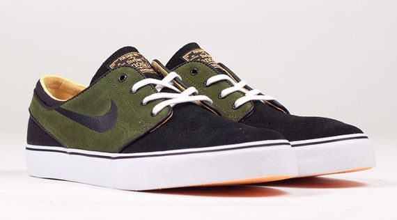 nike sb-stefan janoski-laser orange-green