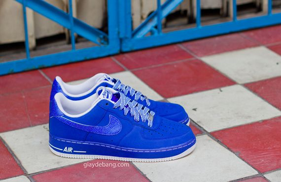 Nike Air Force 1 Low - Blue - White 0753d82e3