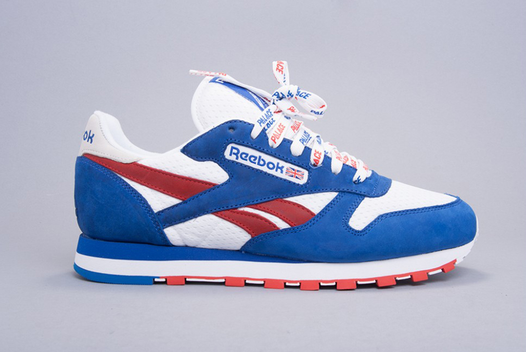 reebok classic red white and blue