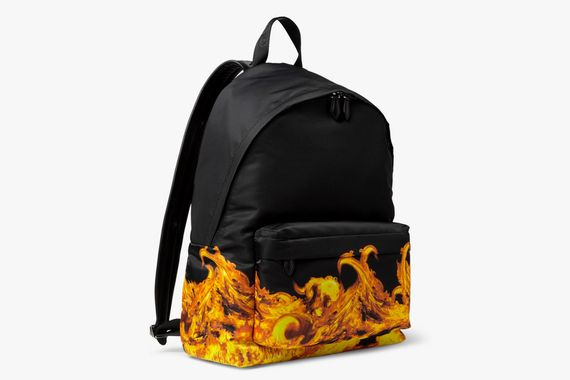givenchy-flame print backpack_04
