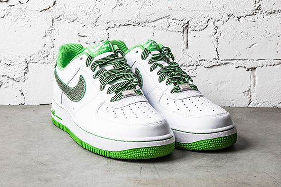 nike-air force 1-apple green