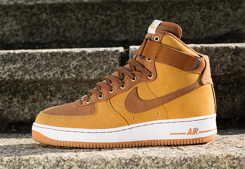 nike-air force 1 high-british tan