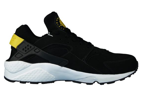 nike-air huarache-black-yellow